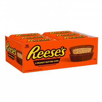 Reese's Peanut Butter Cups, tamaño completo (1.5oz., 36 paquetes)
