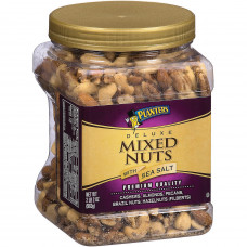 Planters Deluxe Mixed Nuts con sal ...