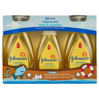 Johnson's Baby Head-to-Toe Wash and S...