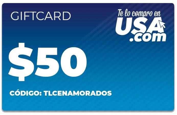 Te lo Compro en  USA | Gift Card
